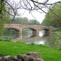 Bridge over River Soar, Abbey Park, Leicester, 01 May 2004