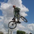 BMX competition, Rally Park, Leicester