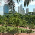 Central Business District from Fort Canning, Fort Canning, Singapore, 16 December 2005
